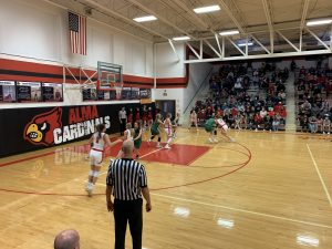 (AUDIO) - Loomis Girls Win Tough Contest Against Upstart Cardinals