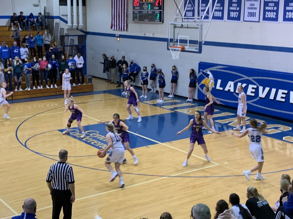(AUDIO) – Holdrege Girls Finish Off Lakeview With Clutch Shooting