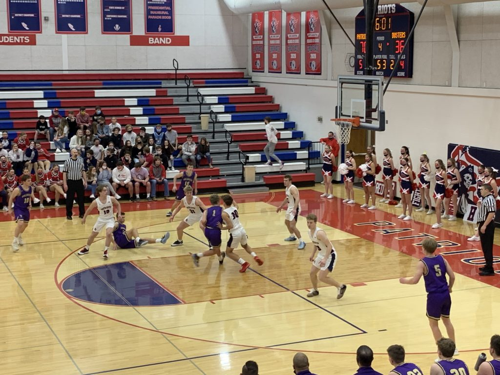 (AUDIO) – Patriots Zoom Past Holdrege, Advance in Central Conference Tournament