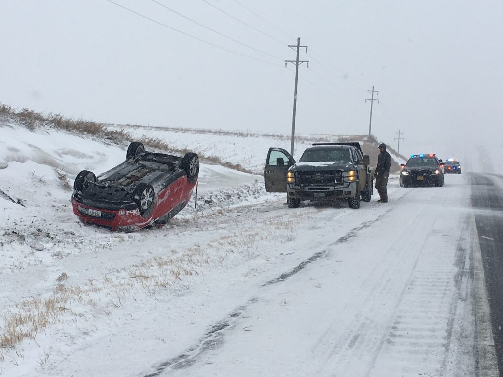Two Women involved in Rollover accident on Highway 275