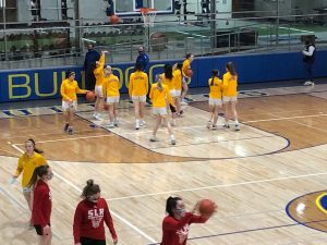 Gering splits games with Sidney Friday night