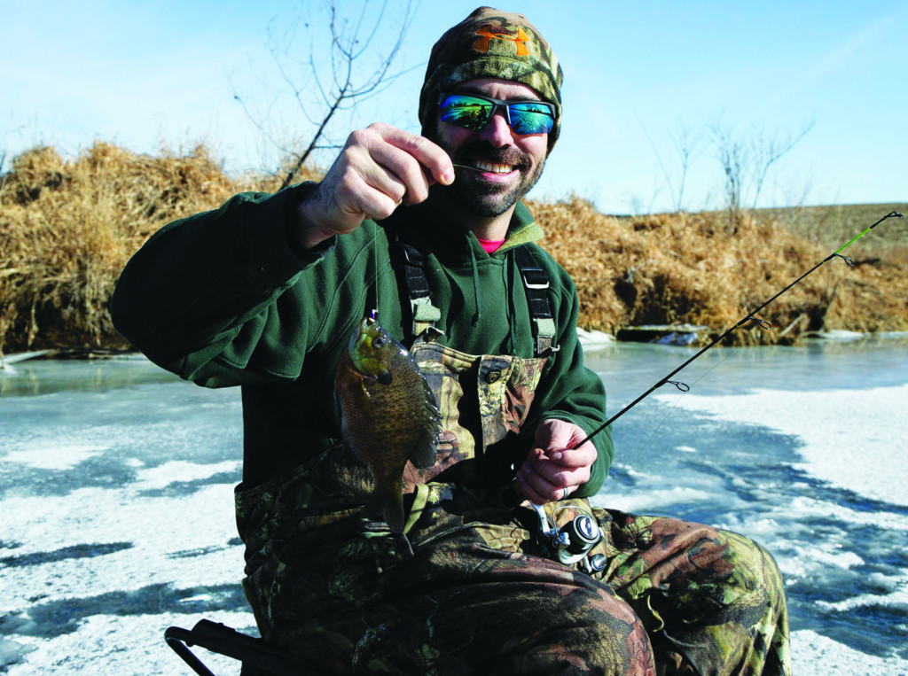 Dress in Layers to Stay Warm, Comfortable While Ice-Fishing
