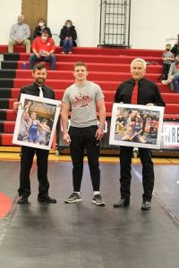 (AUDIO) Berg honored at West Point-Beemer Wrestling Dual