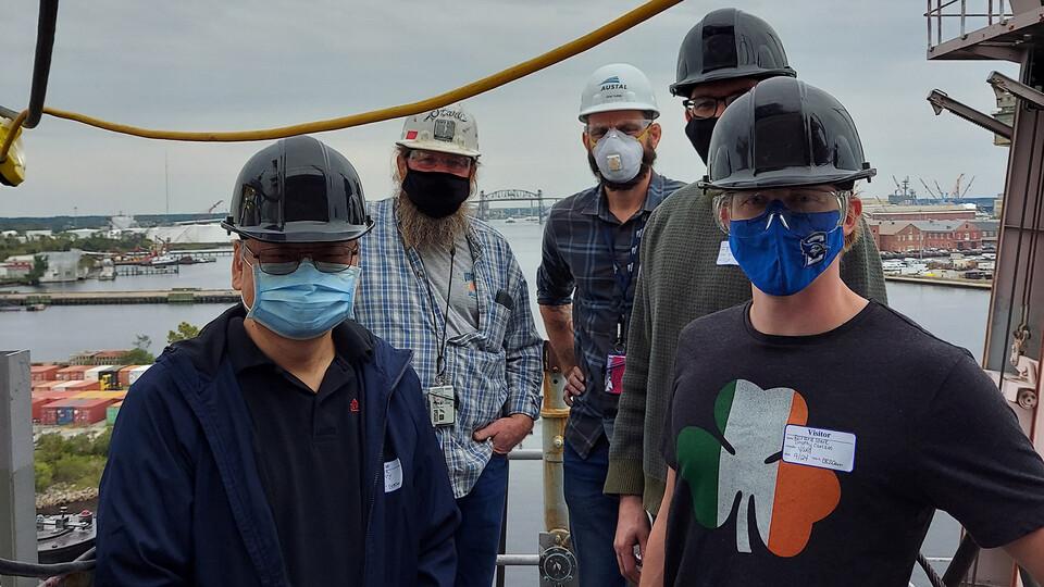 Steady Engineering Team Docks Successful U.S. Navy Test