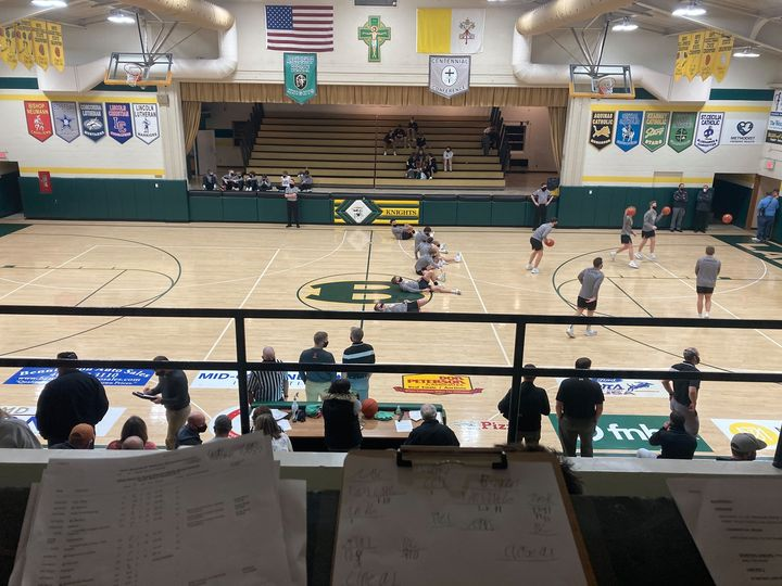 (AUDIO) North Bend Central Boys and Girls sweep Fremont Bergan