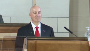 Ricketts talks budget, pandemic in annual address