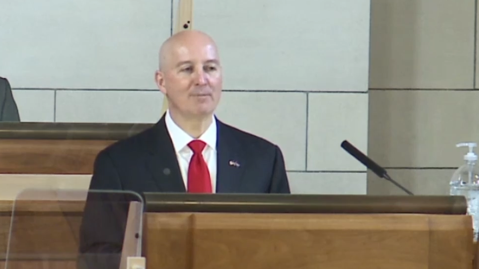 Ricketts talks budget, pandemic in annual address