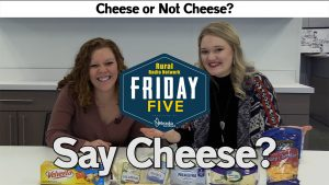 Cheese or... not cheese? | Friday Five | Jan.22, 2021