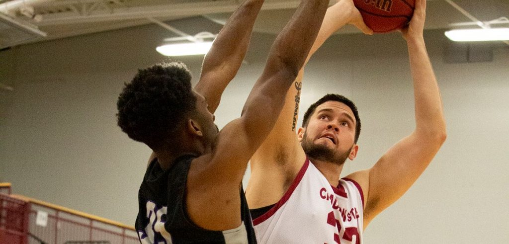 Griffin men survive Eagles by 65-60 margin