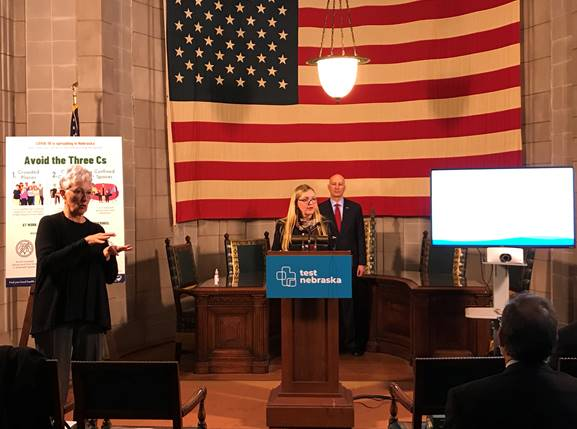 Gov. Ricketts Announces Launch of State's Coronavirus Vaccine Registration Website
