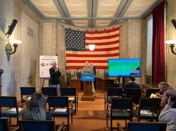Gov. Ricketts: Nebraska One of Only a Handful States Providing Burden-Free Coronavirus Testing