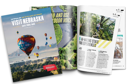 "The 2021 Official ""Not-At-All What You Thought"" Nebraska State Travel Guide available now"