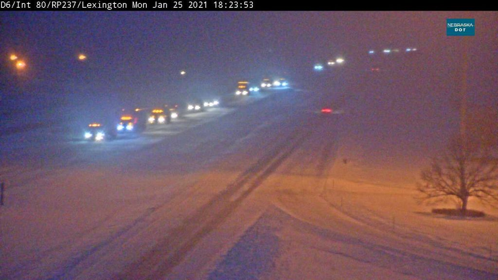 I-80 EB closed for about 2.5 hours between Cozad and Lexington