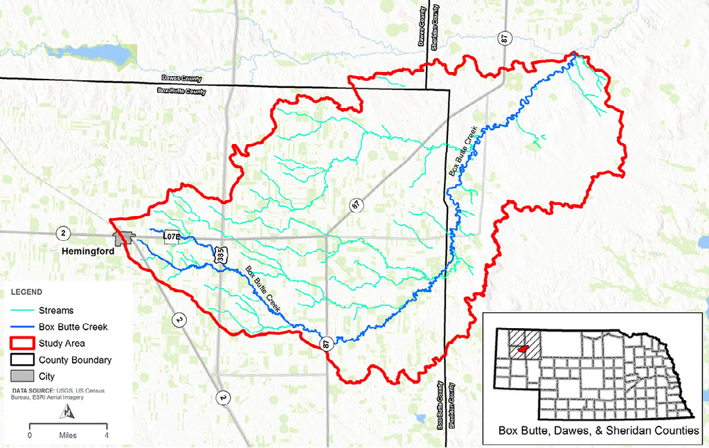 Online public scoping meeting open for Box Butte Creek Watershed Plan EA