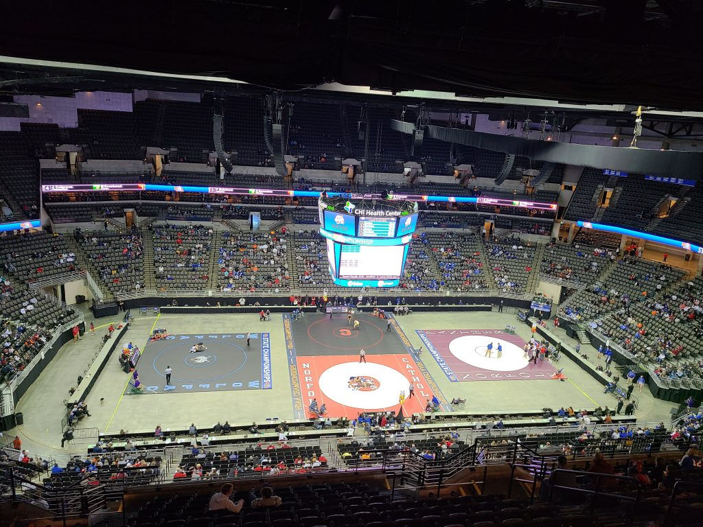 Saturday Class B State Wrestling Results