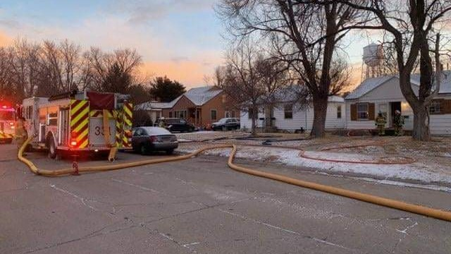 Two Sent to Hospital as Precaution After Alliance House Fire