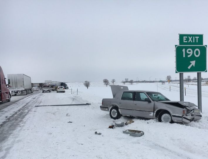 UPDATE: I-80 closed at Exit #199 Brady due to accidents