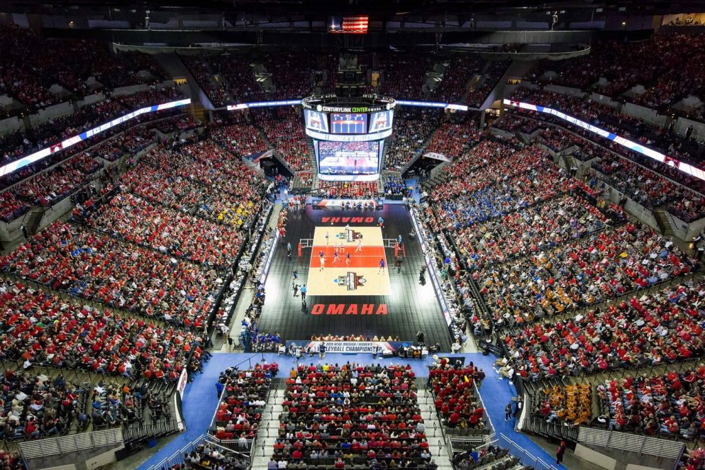 Omaha Will Host All Rounds Of NCAA Volleyball Tourney