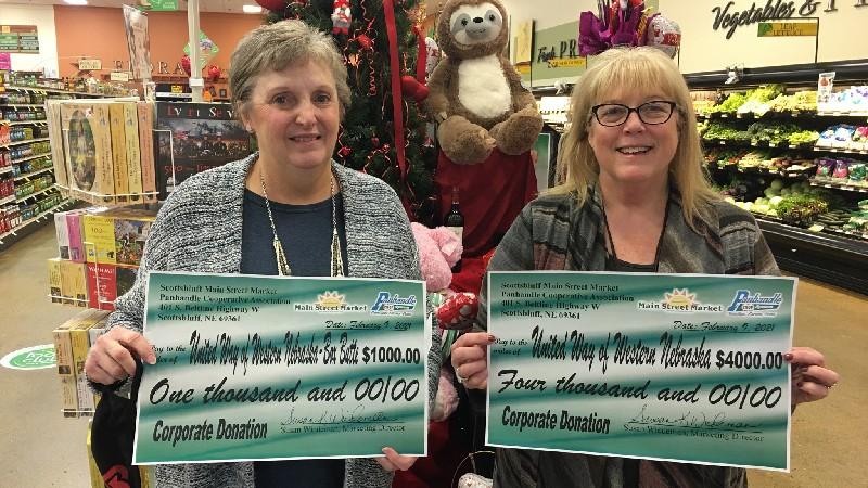 Panhandle Coop Donation Boosts United Way