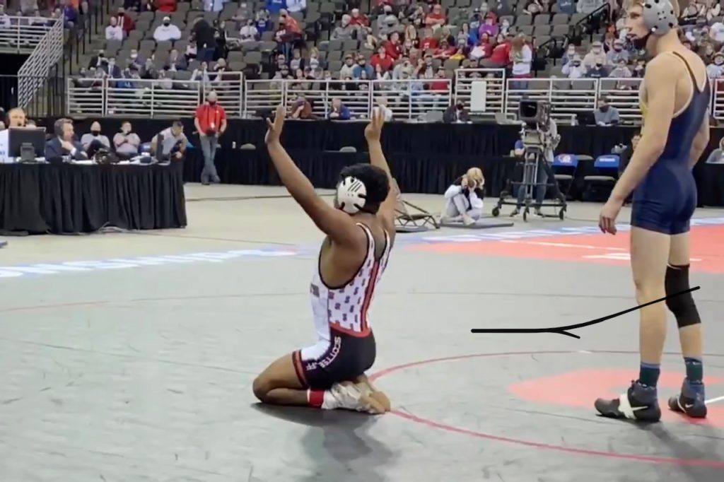 Paul Garcia beats Paul Ruff, becomes 4-time State Champion