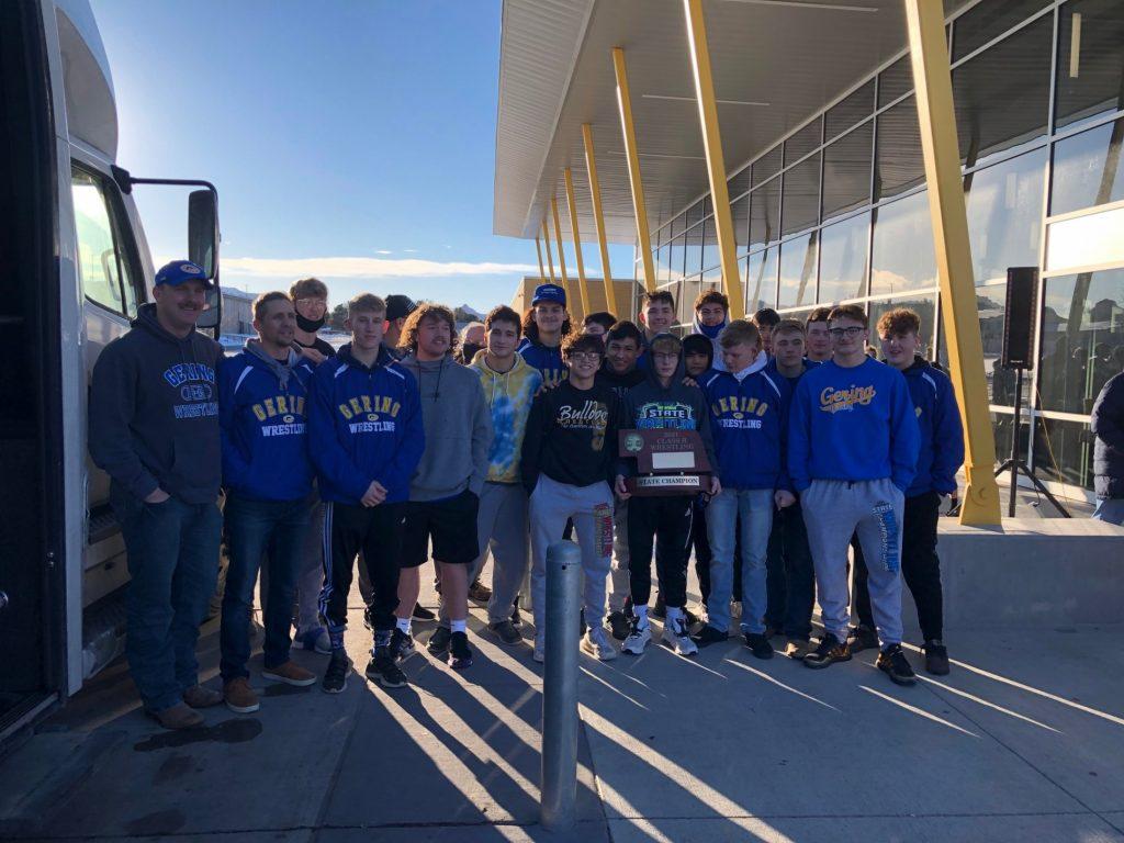 Gering Bulldogs win Class B Wrestling State Championship