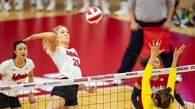 Huskers take down Terrapins behind play of Stivrins