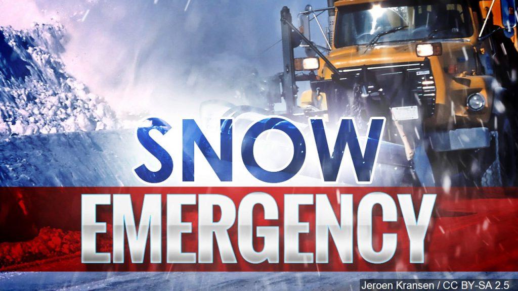 Alliance Declares Snow Emergency thru Noon Saturday