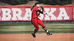 Huskers Split With Hoosiers on Opening Day