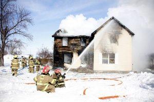 Freezer compressor led to Lexington house fire