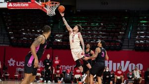 Husker Men come up short against Penn State despite career night by Allen