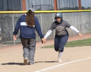 WNCC softball captures two wins, gives coach Groves her 100th win