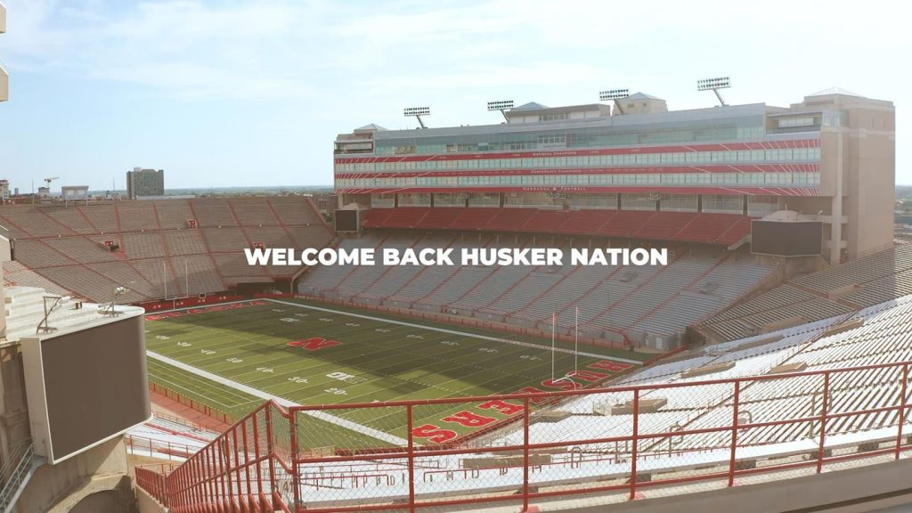 Fans Set to Return to Husker Athletic Events