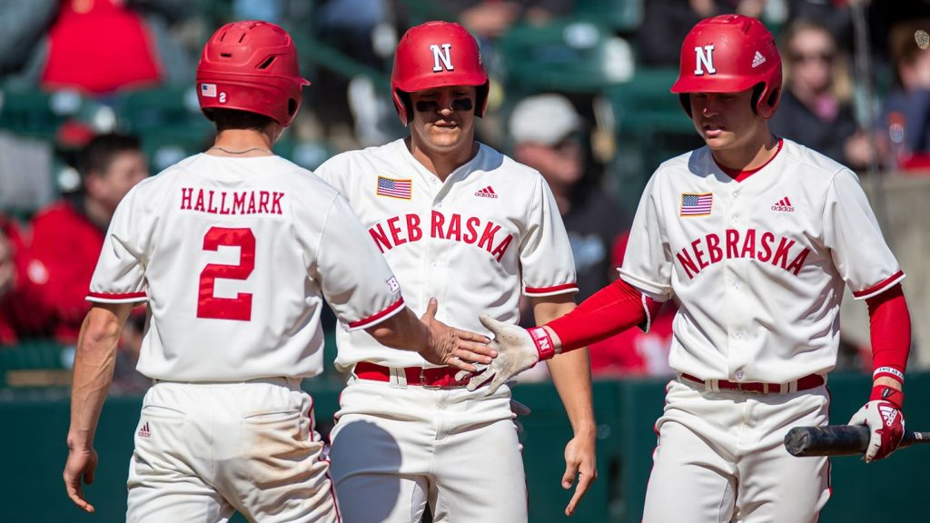 Huskers Beat Gophers in Baseball Home Opener, 6-1