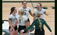 Wegner and Otten help power CCC Volleyball to Region IX Tournament Title Match
