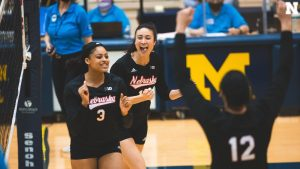 Husker Middles Set Tone in Sweep of Michigan