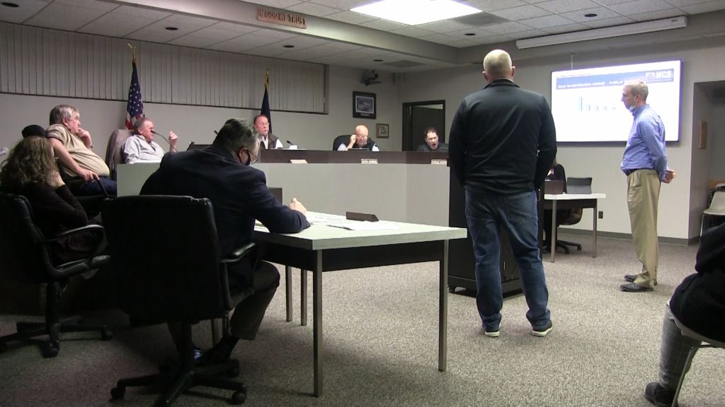 Commissioners Considering Cost-Cutting Measures to Stegall Road Project