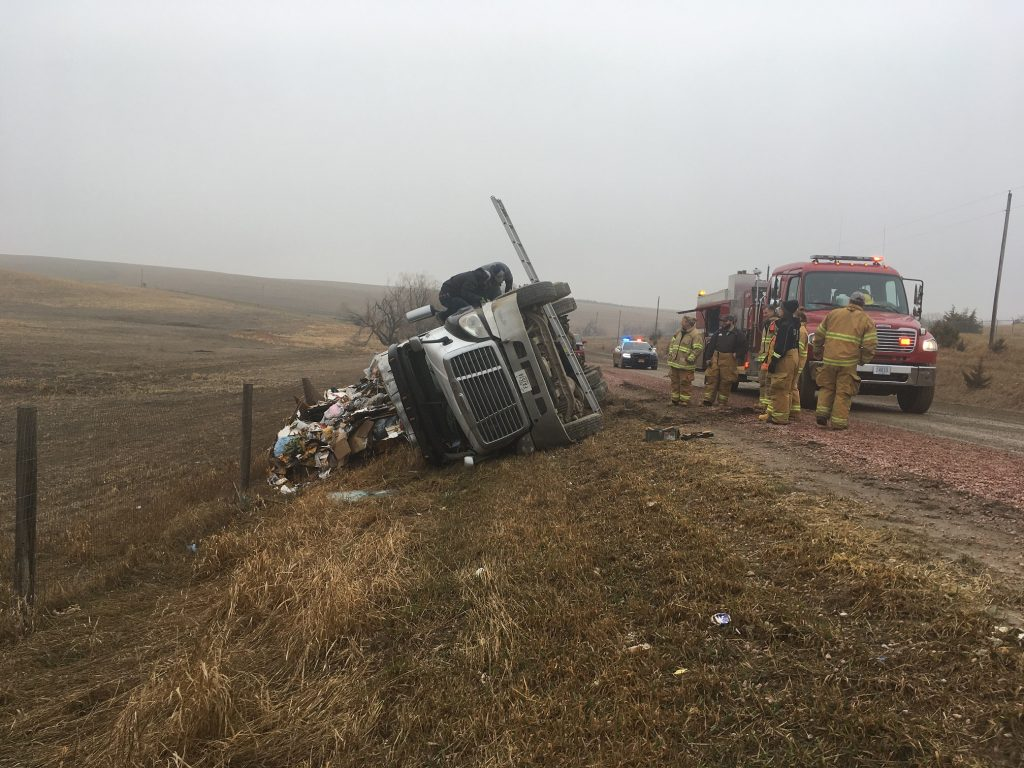 Fremont Man injured in Accident near Clarkson Landfill