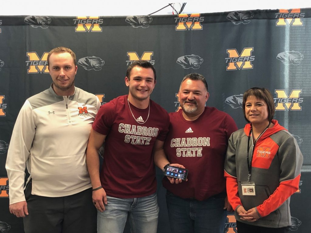 (Listen) Mitchell's Rylan Aguallo set to be multi-sport athlete at Chadron State