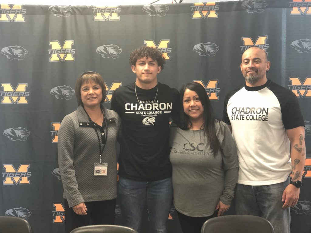 (Listen) Mitchell's Kadin Perez signs with CSC to run track