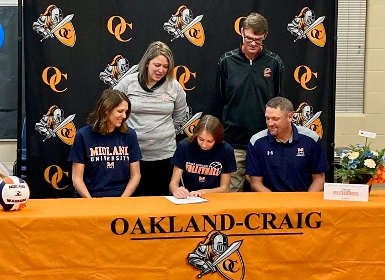 (AUDIO) O-C's Josie Richards to Play Volleyball at Midland