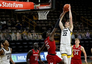 Husker Men blown out at Iowa