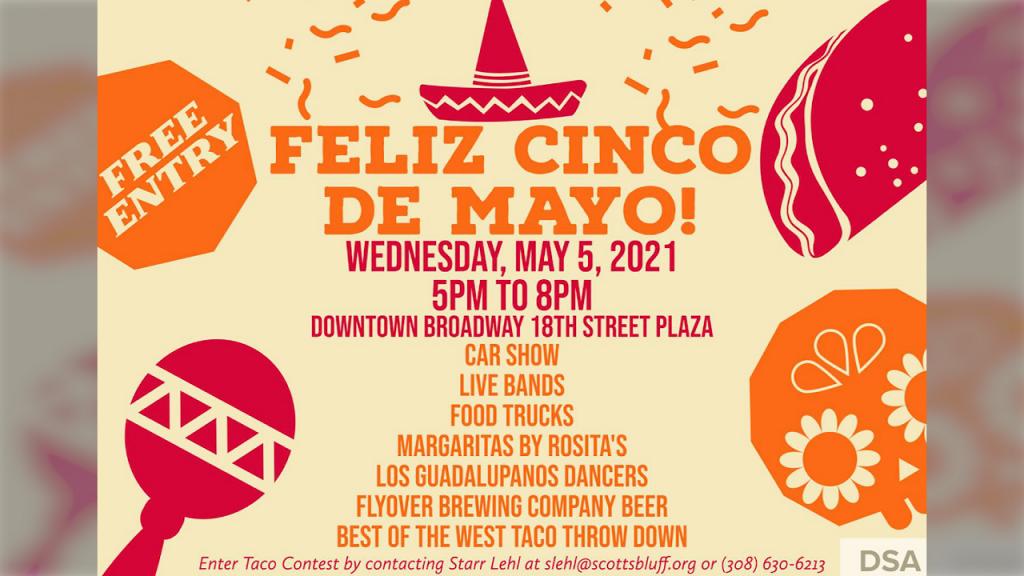 DSA, Bands on Broadway Hosting Initial 18th Street Plaza Cinco de Mayo Celebration