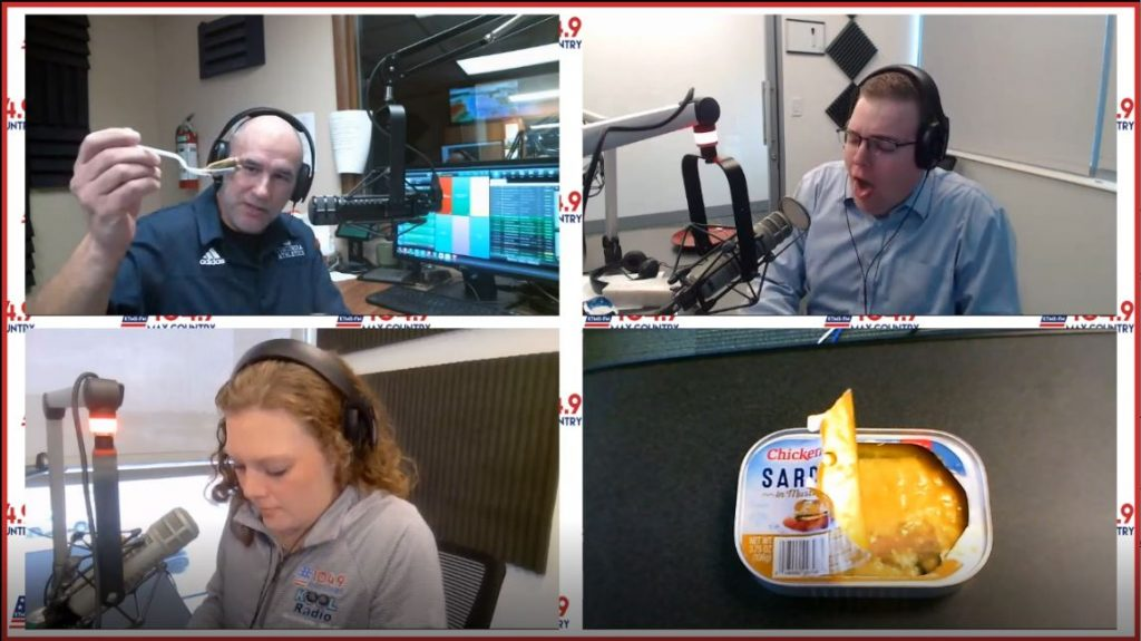 VIDEO: Try Day | Sardines in the Can | Max Country Morning Show