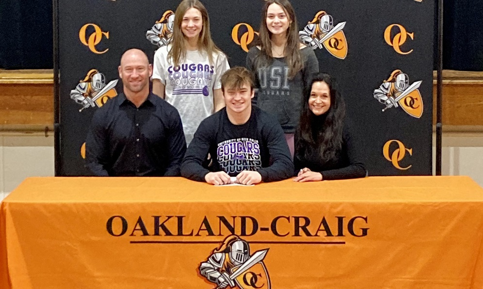 (AUDIO) Oakland-Craig's Caden Nelson Heading to U of Sioux Falls for Football