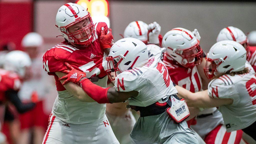 White Edges Red in Nebraska Spring Football Game