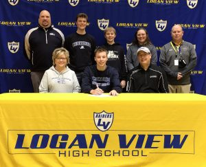 (AUDIO) Logan View's Jake Hagerbaumer to Golf at Concordia