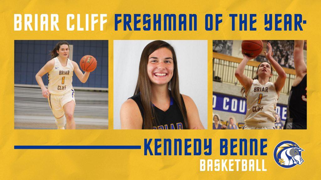 Kennedy Benne Named Briar Cliff Female Freshman Athlete of the Year
