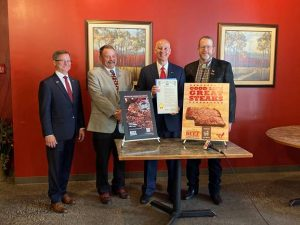 """Ricketts Proclaims """"Beef Month"""" & Highlights Beef Passport Dining Program"""