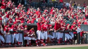 Husker Baseball rallies to beat Northwestern